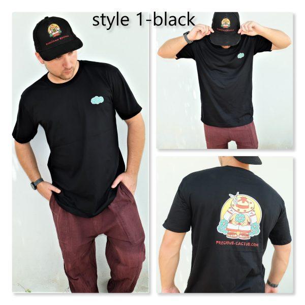 PreciousCactus peyote cactus logo T-shirt limited edition